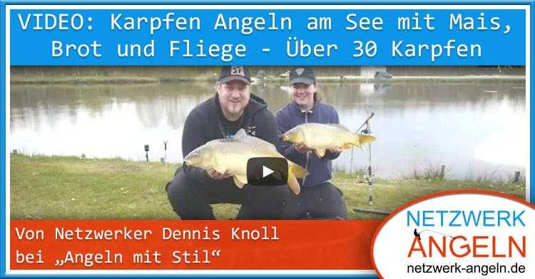 video dennis karpfen am see