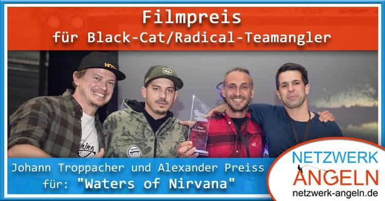 Filmpreis für Black-Cat / Radical -  Teamangler