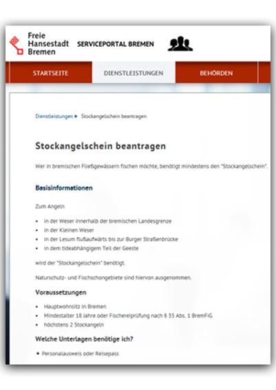 stockangelschein bremen karte Angeln ohne Angelschein in Bremen